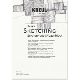 KREUL Künstlerblock Paper Sketching, DIN A5, 20 Blatt
