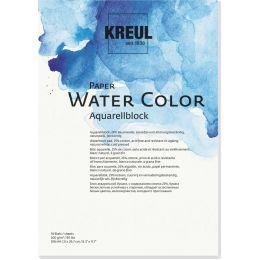 KREUL Künstlerblock Paper Water Color, DIN A4, 10 Blatt