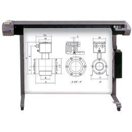 Inapa Inkjet-Plotterrolle, 610 mm x 50 m, weiß