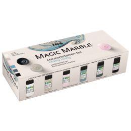 KREUL Marmorierfarbe Magic Marble matt, Set Chalky Living