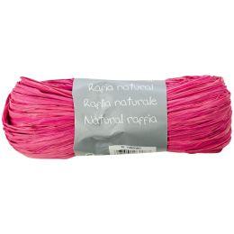 Clairefontaine Raffia-Naturbast, rosa