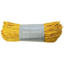 Clairefontaine Raffia-Naturbast, zitronengelb