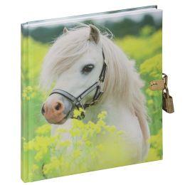 PAGNA Tagebuch Kleines Pony, 128 Blatt