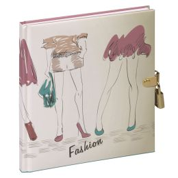 PAGNA Tagebuch Fashion Friends, 128 Blatt