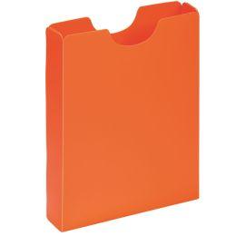 PAGNA Heftbox DIN A4, Hochformat, aus PP, orange