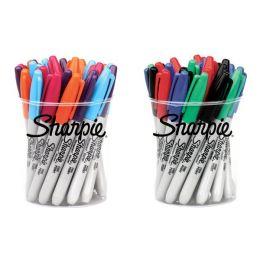 Sharpie Permanent-Marker FINE Standard, 24er Runddose
