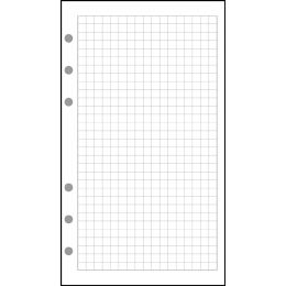 EXACOMPTA Nachfüllung Exatime 17, karierter Block (5 x 5)