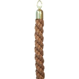 Securit Absperrsystem CLASSIC - Seil, bronze / gold