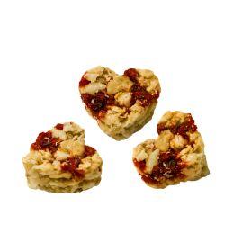 HELLMA Müsli-Herzen Cranberry, im Portionsbecher