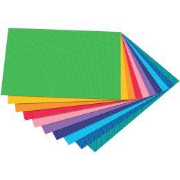 folia Motivkarton Punkte klein, 500 x 700 mm, 300 g/qm