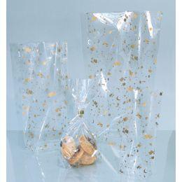 folia Weihnachts-Bodenbeutel, Maße: (B)95 x (H)160 mm
