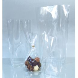 folia Bodenbeutel, Maße: (B)145 x (H)235 mm, transparent