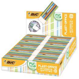 BIC Kunststoff-Radierer Plast-Office, im Thekendisplay