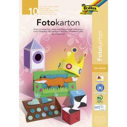 folia Fotokartonmappe, 220 x 320 mm, farbig sortiert