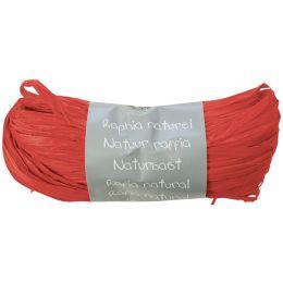 Clairefontaine Raffia-Naturbast, rot