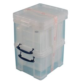 Really Useful Box Aufbewahrungsbox 3er-Set, 35 Liter