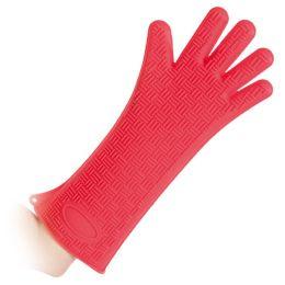 HYGOSTAR Silikon-Handschuh HEATBLOCKER, rot, Länge: 350 mm
