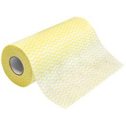 HYGOCLEAN Sp�l- & Reinigungstuch ECO, auf Rolle, gelb