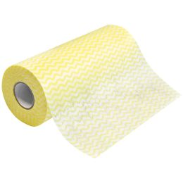 HYGOCLEAN Spül- & Reinigungstuch ECO, auf Rolle, gelb