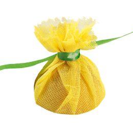 franz mensch Lemon Wrap HYGOSTAR, gelb, mit grüner Krawatte