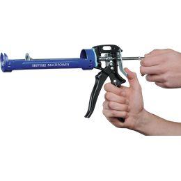 HEYTEC Profi-Kartuschenpistole Multipower, blau / schwarz