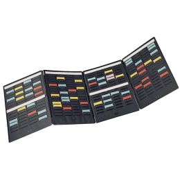nobo Mini-Planer-Kit, (B)240 x (H)310 mm, aus PVC, schwarz