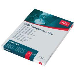 nobo Inkjet-Folie, DIN A4, transparent, PP, 120 my