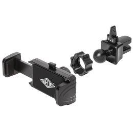 WEDO Smartphone-KFZ-Klemmhalter Clip-it plus, schwarz
