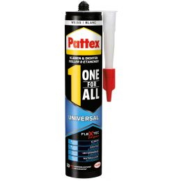 Pattex Universal-Montagekleber One for All, weiß, 420 g