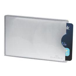 DURABLE Kreditkartenhülle RFID SECURE, (B)86 x (H)54 mm