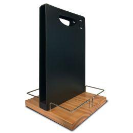 Securit Tischaufsteller TABLE CADDY, mit Kreidetafel