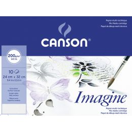 Canson Zeichenpapier Imagine, 320 x 240 mm, Umschlag