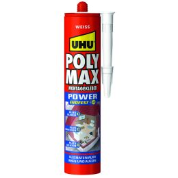 UHU Montagekleber POLYMAX EXPRESS, weiß, 425 g Kartusche