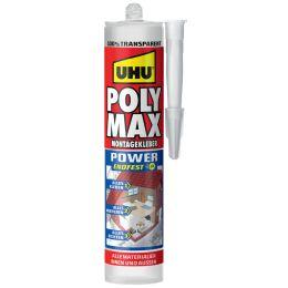 UHU Montagekleber POLYMAX EXPRESS, glasklar, 300 g Kartusche