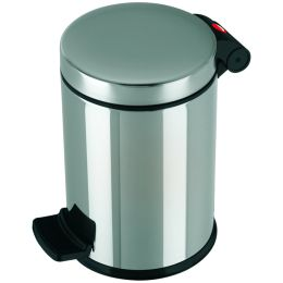 Hailo Tret-Kosmetikeimer Solid S, 4 Liter, silber