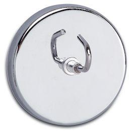 MAUL Hakenmagnet, Durchmesser: 52 mm, Haftkraft: 9 kg