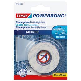 tesa Powerbond Montageband für Spiegel, 19 mm x 1,5 m