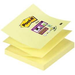Post-it Super Sticky Z-Notes, 76 x 76 mm, kanariengelb