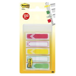 Post-it Haftstreifen Index Pfeile, 11,9 x 43,2 mm, 5-farbig