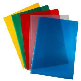 proOFFICE Sichthülle, DIN A4, PP-Folie, genarbt, rot