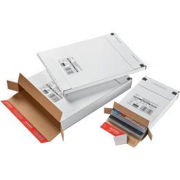 ColomPac Versandkarton Kurierpaket, für Maxibrief, weiß