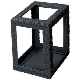 HEYDA Laternen-Zuschnitt, rechteckig, groß, schwarz