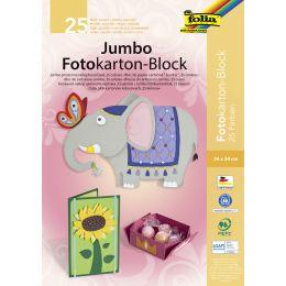 folia Jumbo Fotokartonblock, (B)240 x (H)340 mm, 300 g/qm