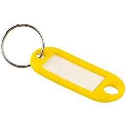 JPC Schlüsselanhänger mit Ring, Durchmesser: 18 mm, sortiert