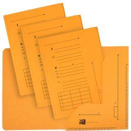 ELBA ULTIMATE Einstellmappe mit 2 Klappen, DIN A4, gelb