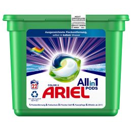 ARIEL 3in1 PODS Waschmittel COLOR, 22 WL
