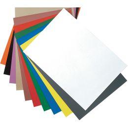 magnetoplan Magnetpapier-Bogen DIN A4, rot