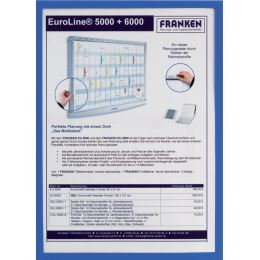 FRANKEN Sichttasche FRAME IT X-tra!Line, DIN A3, blau