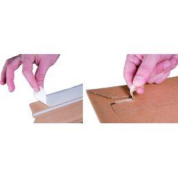 smartboxpro Versandtasche, aus brauner Wellpappe, DIN B4