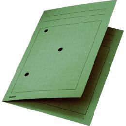 LEITZ Umlaufmappe, DIN A4, Manilakarton 320 g/qm, grün